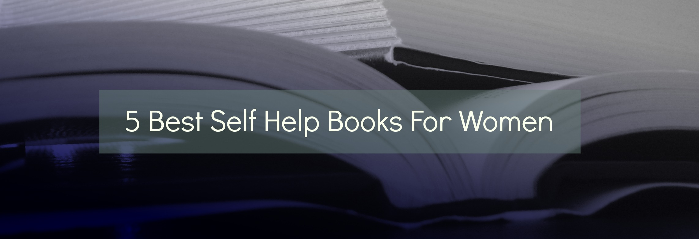 best self help books for women