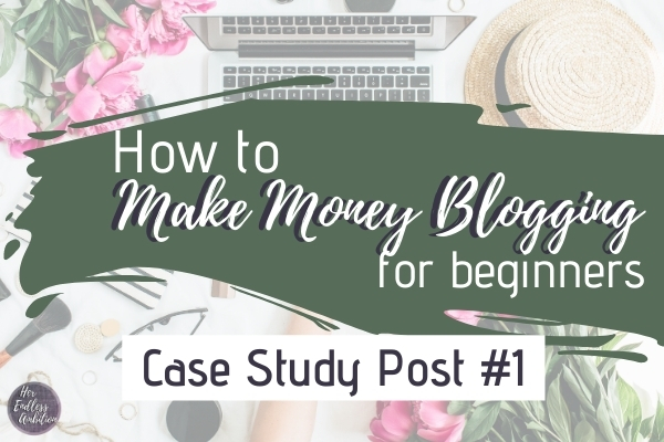 How to make money blogging for beginners - a case study of Ready Set Blog for Traffic by Elna Cain